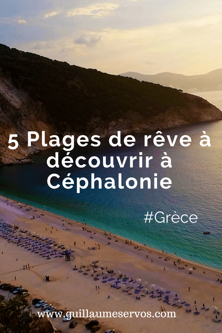 Découvre 5 plages de rêve à Céphalonie en Grèce