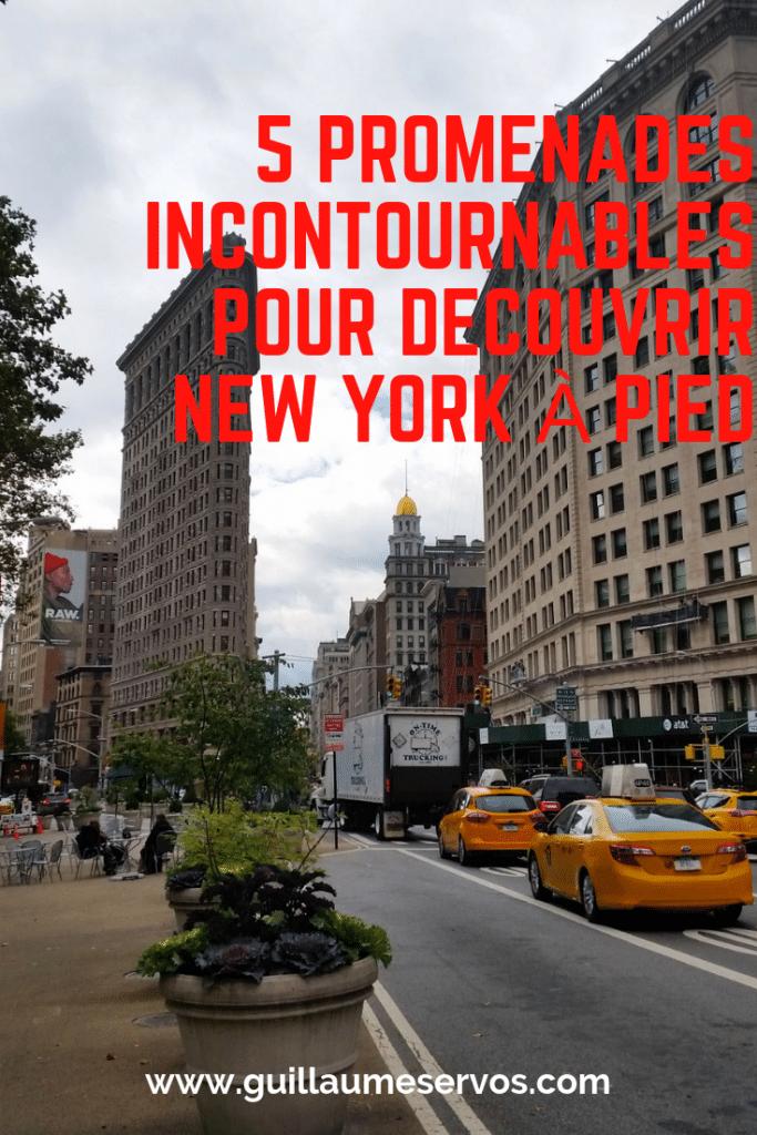 C'est bon, tu as enfilé tes plus belles sneakers ? Prêt (e) à découvrirNew York à pied avec ma sélection des plus belles balades. Au menu : Midtown, Union Square, le Village, Harlem, Brooklyn...