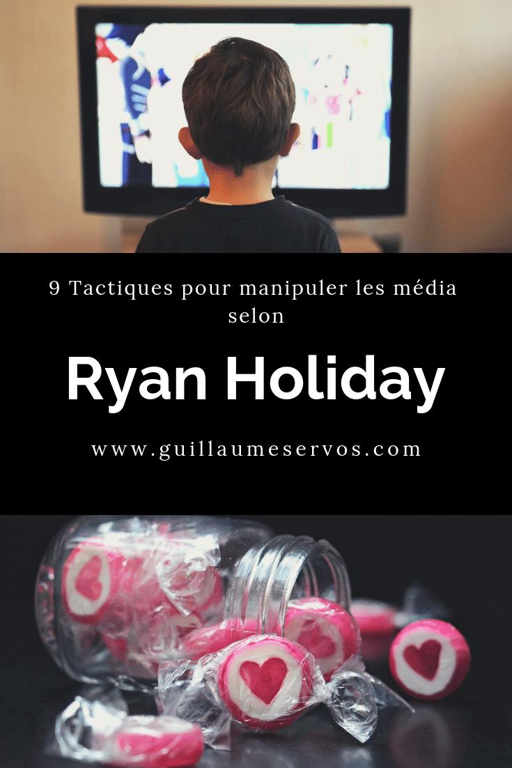 """Découvrez comment générer des ventes en manipulant les média et internet. Les tactiques de Ryan Holiday sont extraites de son excellent livre de """"Croyez-moi, je vous mens"""" à l'époque où il était encore directeur marketing d'American Apparel. Prêt à vous initier à la persuasion et à la manipulation ?"""