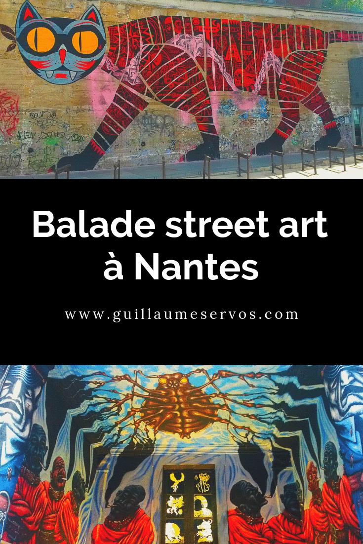 Découvre ma promenade street art et graffiti à Nantes. Au menu : Pick Up Production, le centre-ville, la maison d'arrêt, la rue Saint-Domingue.