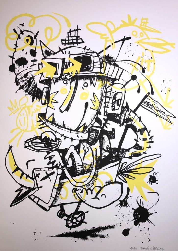 Street art de Cha'Malo