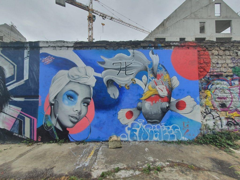 Street art Bordeaux #6 : DERF