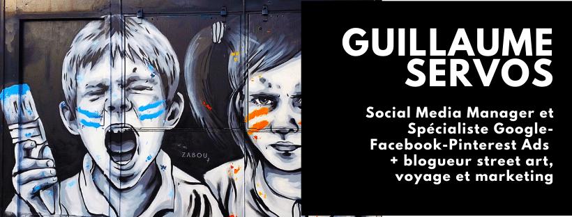 Social media manager et Spécialiste Google-Facebook-Pinterest Ads sur la région de Lyon, je suis également blogueur street art, voyage et marketing digital.