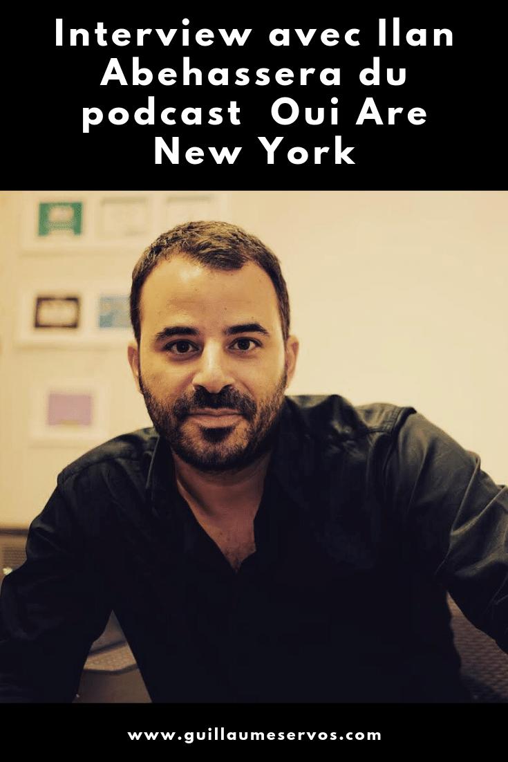 Découvre mon interview avec Ilan Abehassera du podcast Oui Are New York. Au menu : son rapport au podcasting, aux réseaux sociaux, au voyage et sa carte blanche.