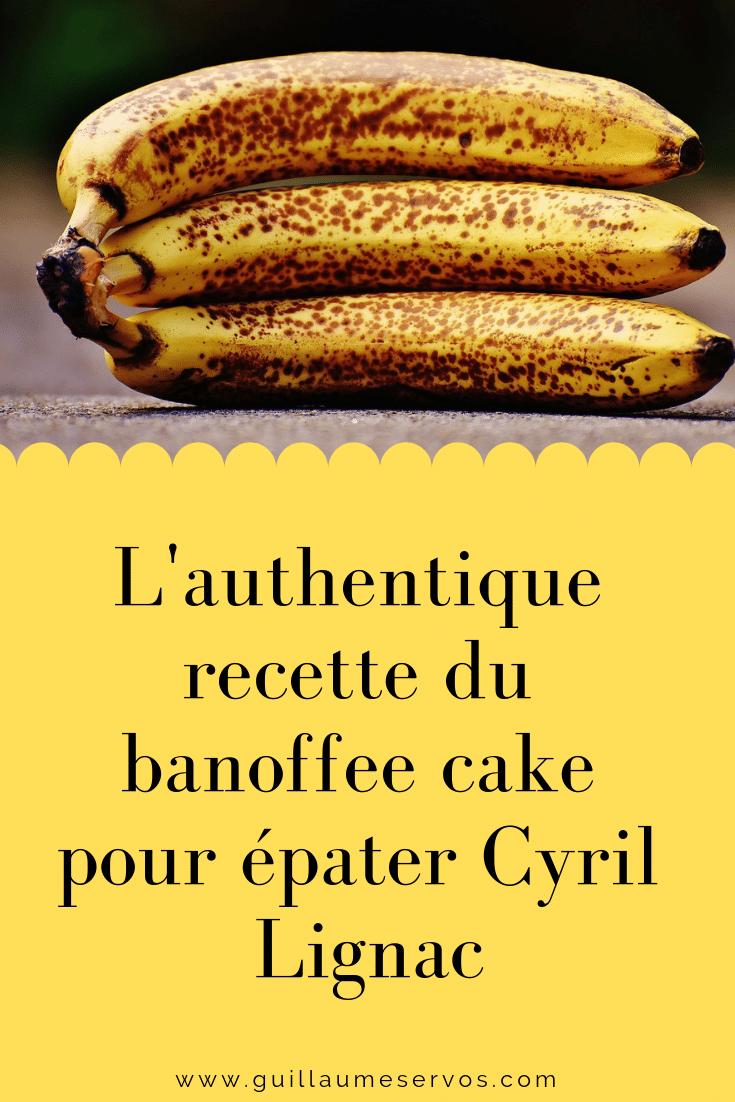 Découvre la recette de cuisine du délicieux banoffee cakepour épater Cyril Lignac. Voyageons avec ce gâteau aux Etat-Unis et tout particulièrement à New York sur les pas de mes souvenirs culinaires.