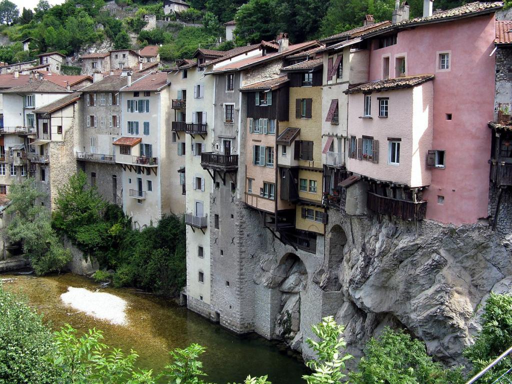 Pont-en-Royans (Isère)