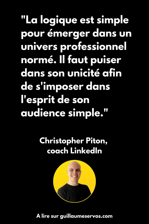 A la conquête de LinkedIn (Christopher Piton) : on lit ou on zappe