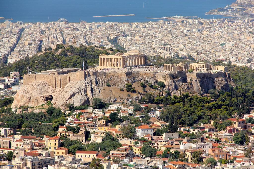 Athènes serait la plus ancienne ancienne cité européenne. 10+2 anecdotes insolites