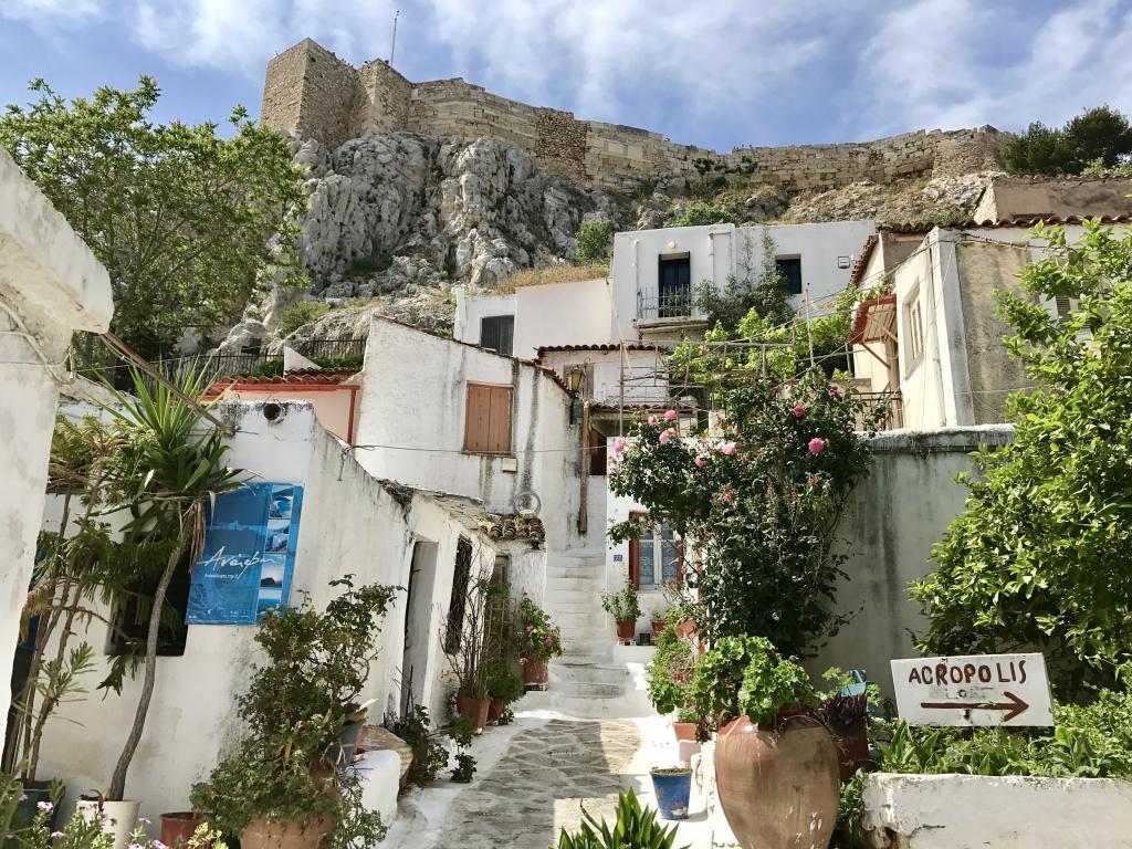 L'Acropole de Laure du site Vivre Athènes