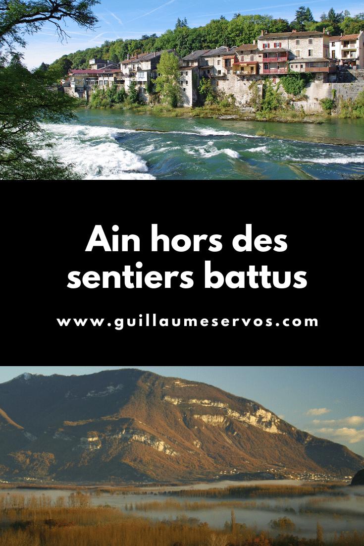 Envie de découvrir l'Ain autrement, hors des sentiers battus ? Très bonne idée, au menu : Ambronay, Ferney-Voltaire, Bugey, Nantua, Trevoux…