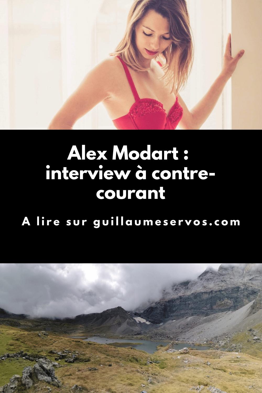 Découvre mon interview avec Alex Modart, aventurière dans l'âme et modèle photo. Son rapport à la photographie, aux réseaux sociaux et au voyage.