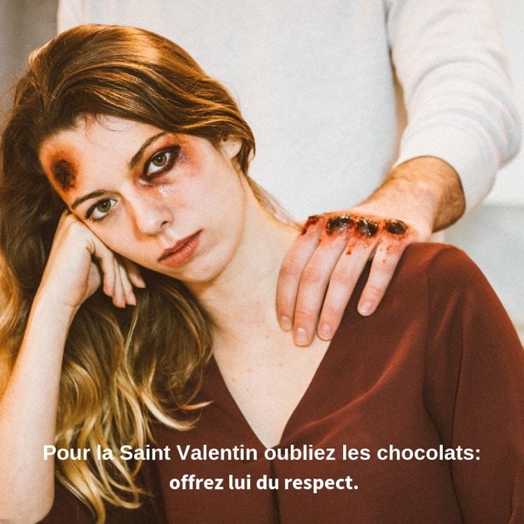 Offrez-lui du respect modèle photo Alex Modart