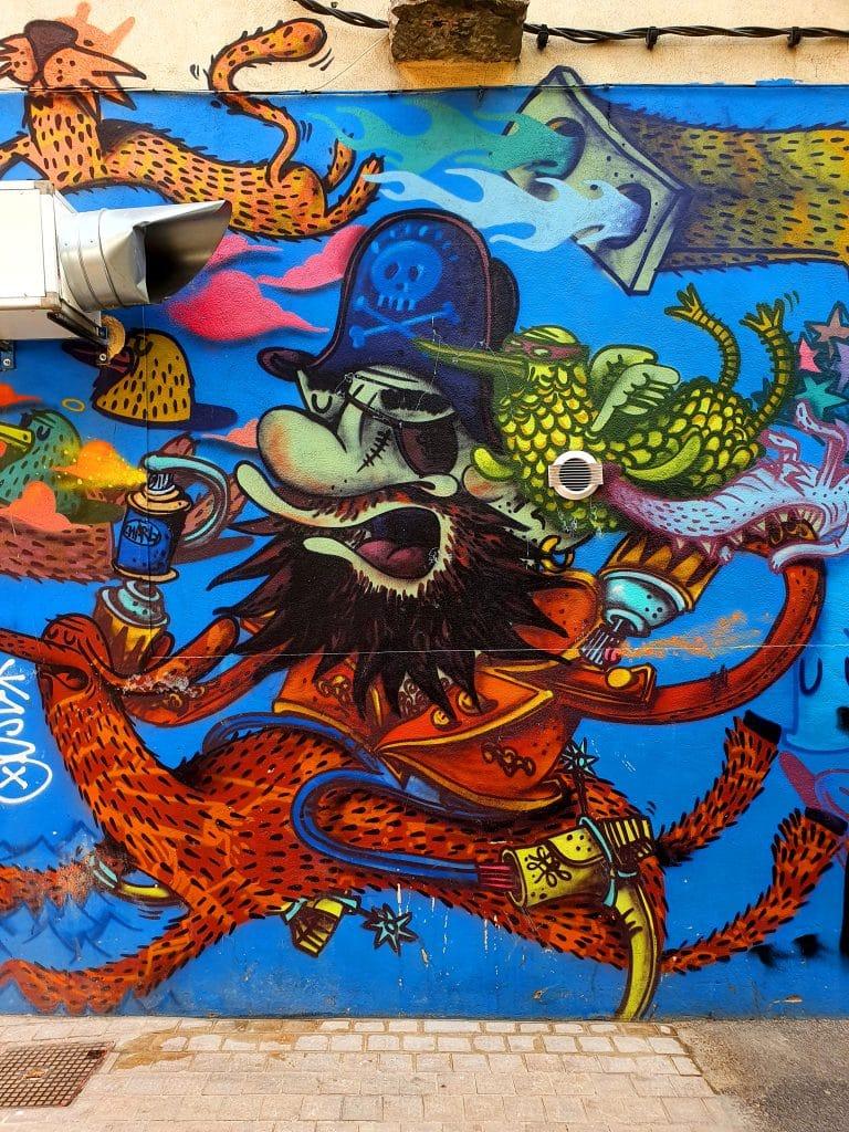 Street art Sète #9 : Alëxone
