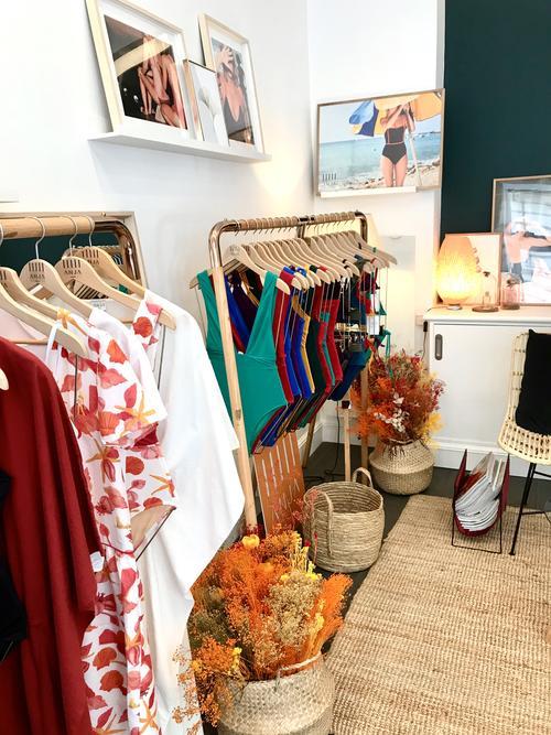 La boutique d'Anja Paris dans la capitale.
