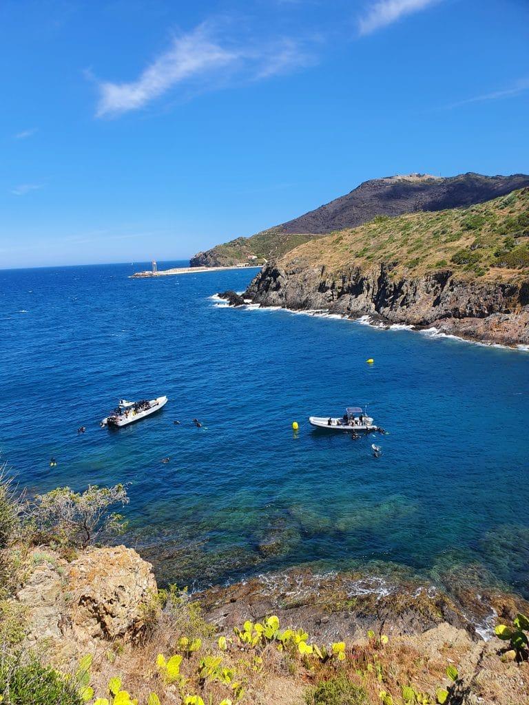 Anse Mauresque à Port-Vendres, région de Collioure