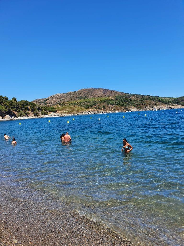 Où se baigner dans la région de Collioure : Domaine de Paulilles
