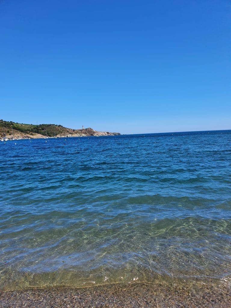 L'accès à la plage de Paulilles