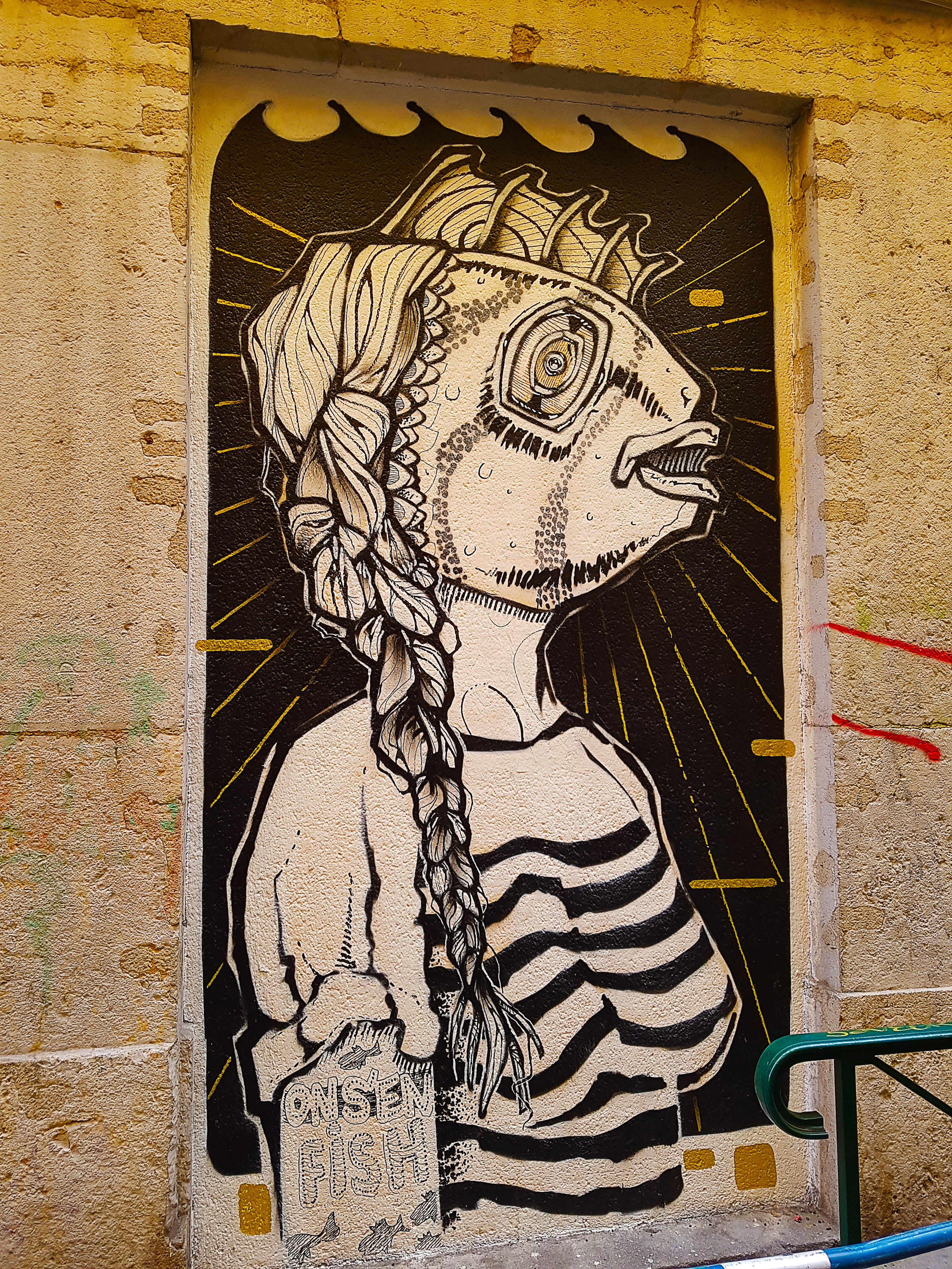 le street artiste Antoine Chateau, Lyon