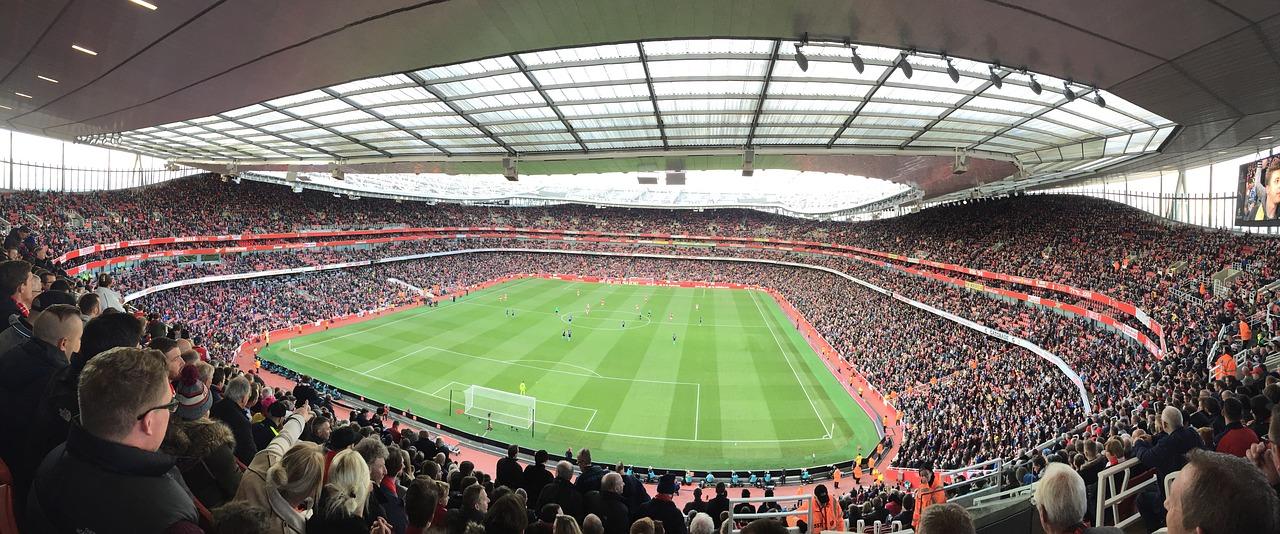Vue des tribunes de l'Emirates (Arsenal FC) dans les anecdotes insolites sur Londres