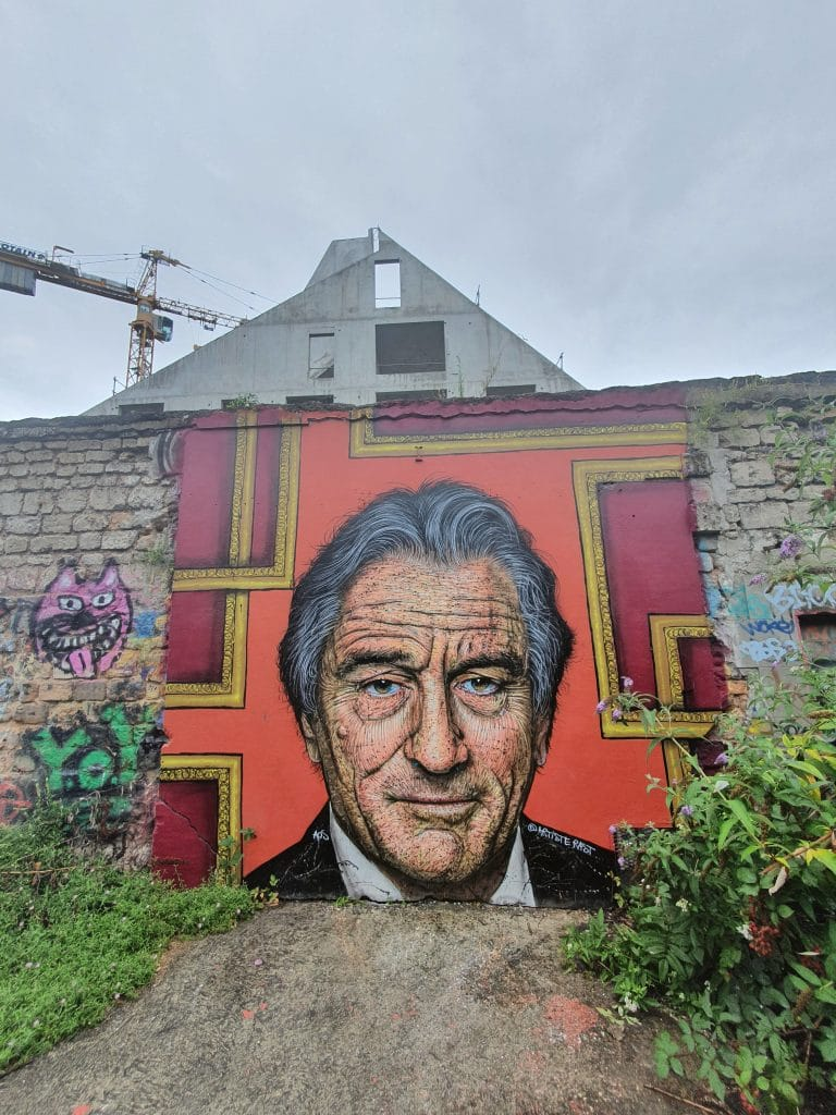 Le Robert de Niro de RAST à l'espace Darwin de Bordeaux (France)