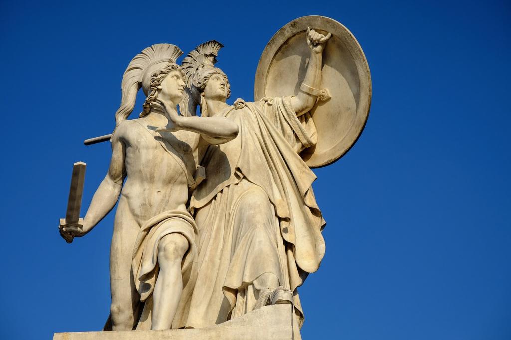 """D'après la mythologie, Athéna et Poséidon était en concurrence pour le titre de protecteur de la ville. Chacun devait offrir des présents aux dieux pour les séduire et c'est Athéna qui a remporté le """"casting"""" en offrant un olivier. Anecdotes insolites"""