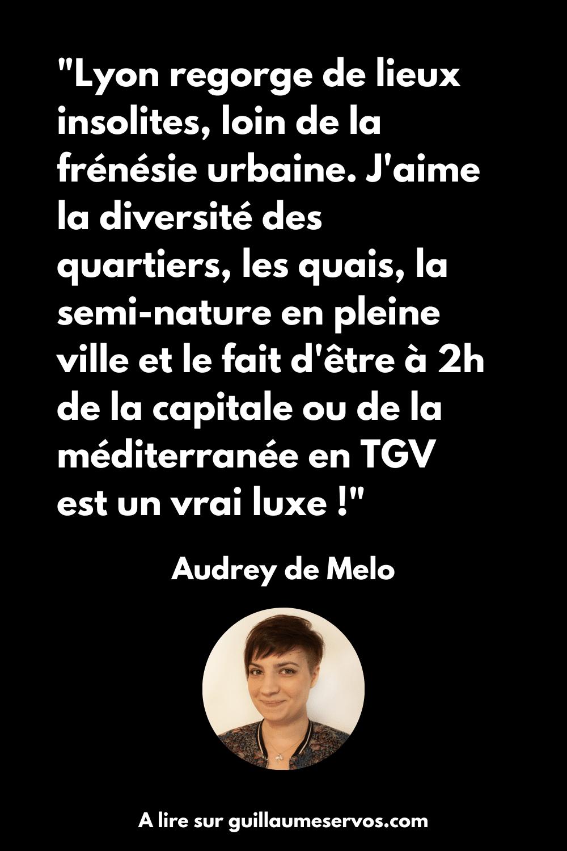 Le coup de cœur d'Audrey de Melo en France