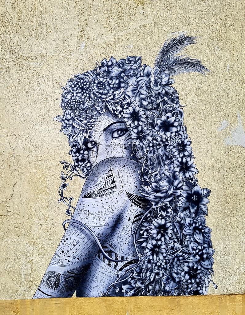 le street art de Aydar à la Butte-aux-Cailles, Paris.