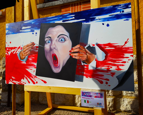Balade en 10 photos au festival street art d'Oyonnax, édition 2018