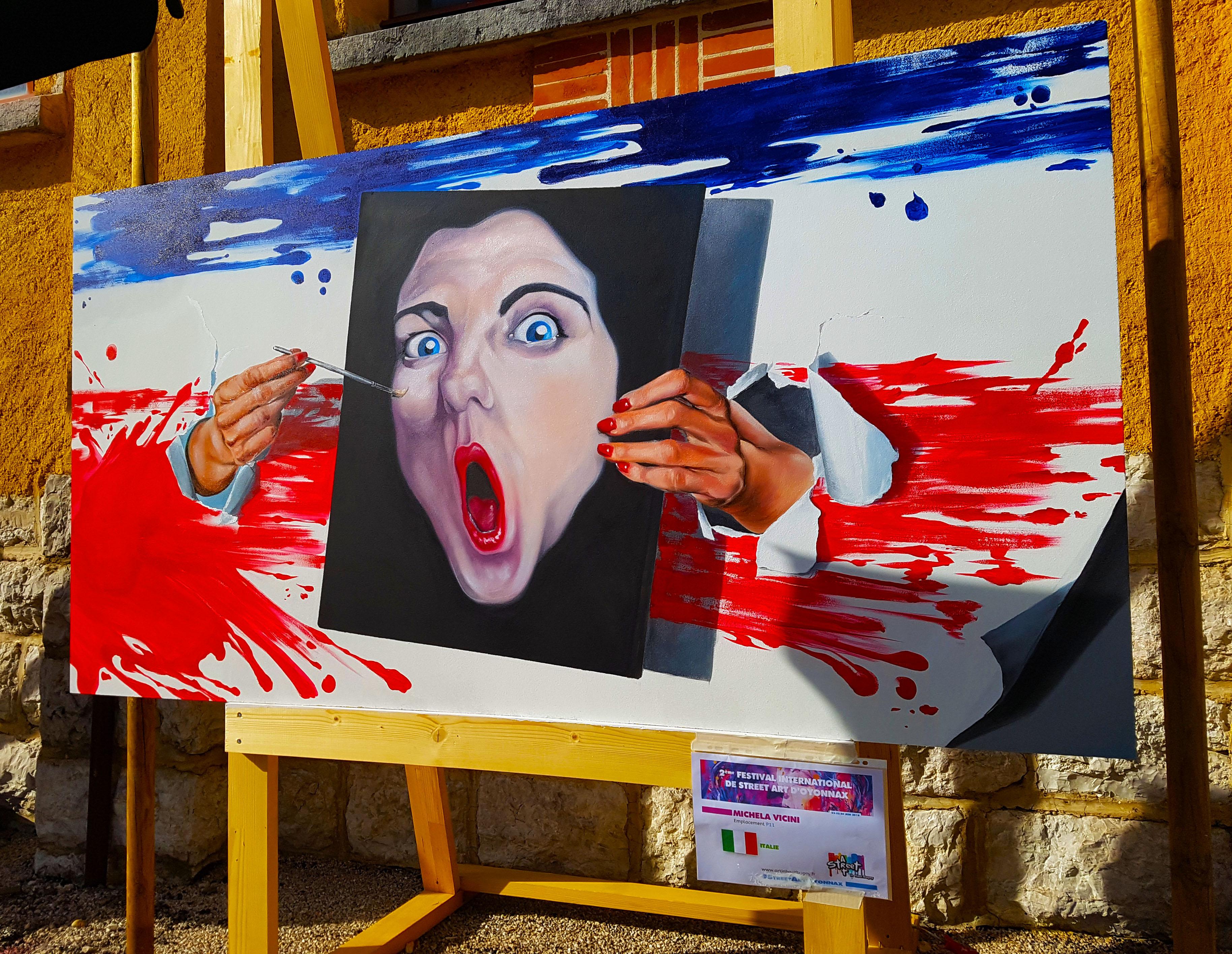 Balade au festival street art d'Oyonnax
