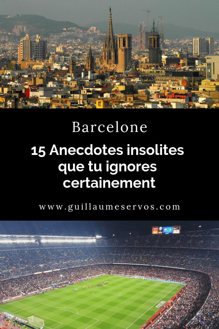 Connais-tu vraiment Barcelone ? Découvre des anecdotes insolites que tu ignores certainement sur la Sagrada Familia, Gaudi, le Barça, les plages, le parc Güell