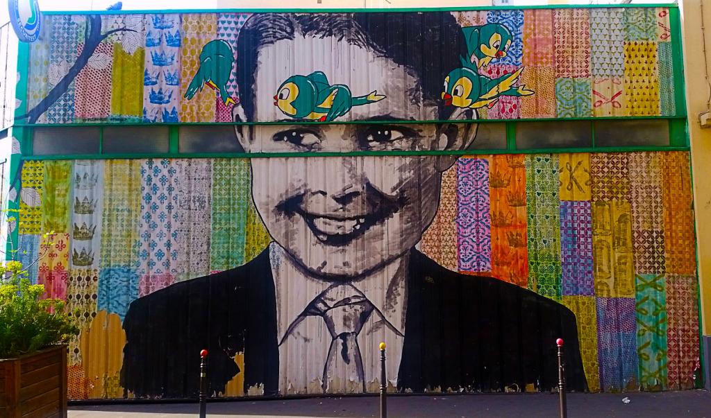 Promenade street art dans le quartier de Belleville à Paris