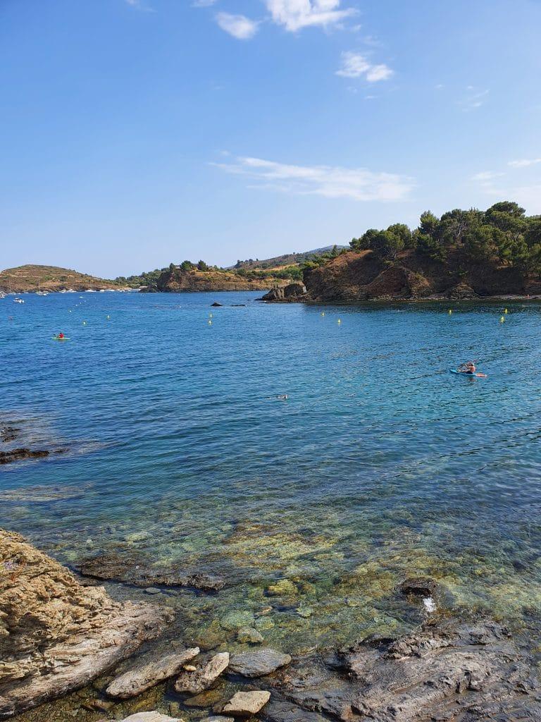 La plage de Bernardi à Port-Vendres, près de Collioure