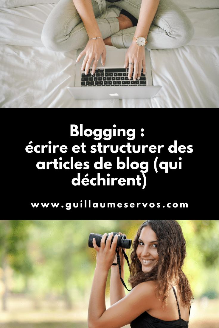 Comment écrire et structurer des articles de blog qui déchirent sans se prendre la tête ? Au menu : blogging, audience, SEO, copywriting, persuasion...