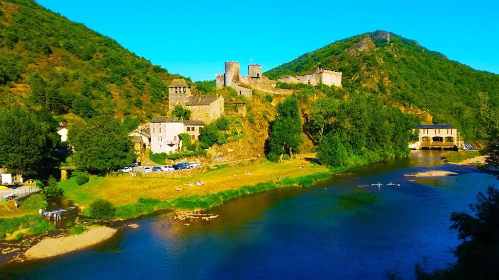 Brousse-le-Château en Aveyron, France