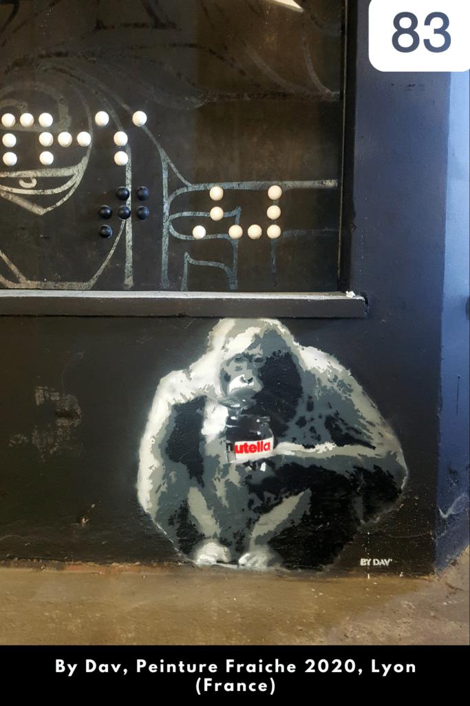 By Dav à Peinture Fraiche (Lyon, 2020)
