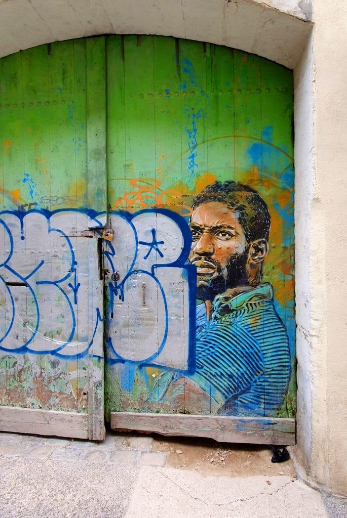 Street art Sète #14 : C 215