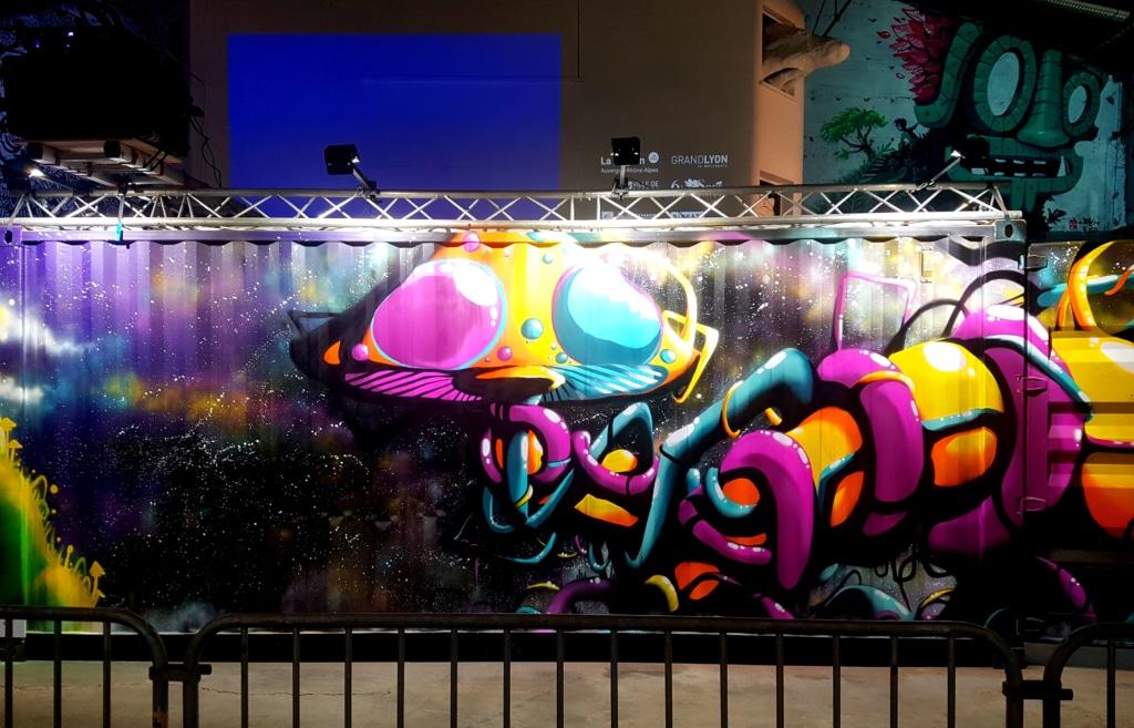 Le street artiste Capie (Lyon) pour Peinture Fraiche 2020