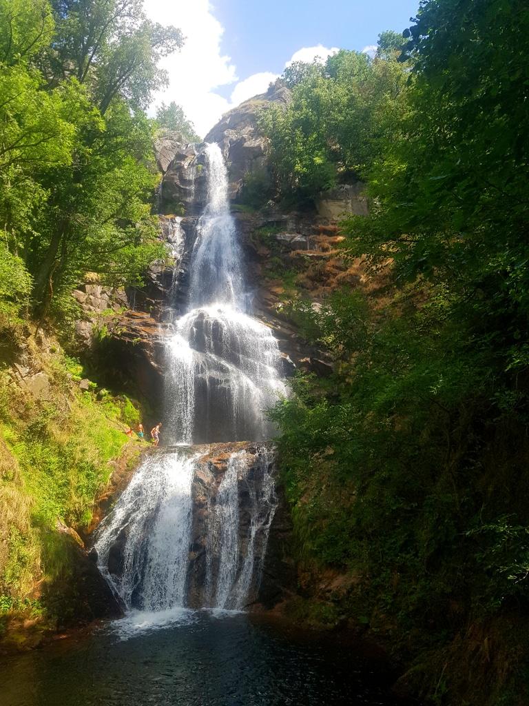 La cascade de Runes sur le Mont-Lozère