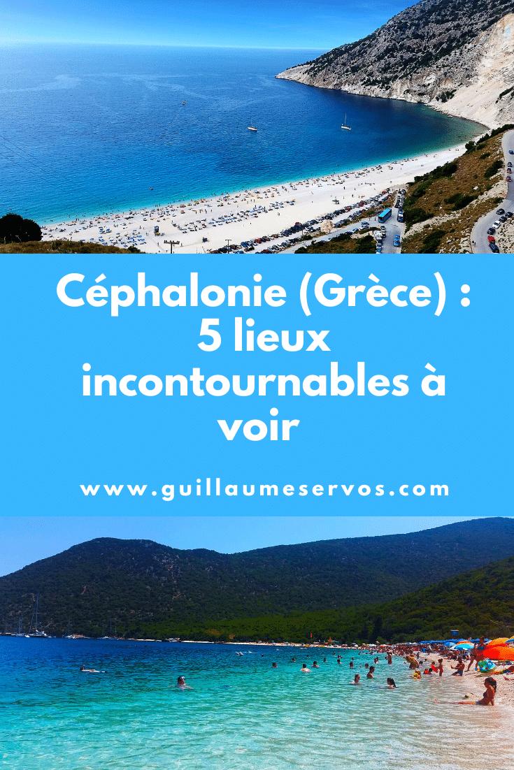 Découvre Céphalonie ou Kefalonia en grec. Au menu : les sublimes plages de Myrtos, Antisamos et Petani, l'hospitalité et la délicieuse cuisine locale.