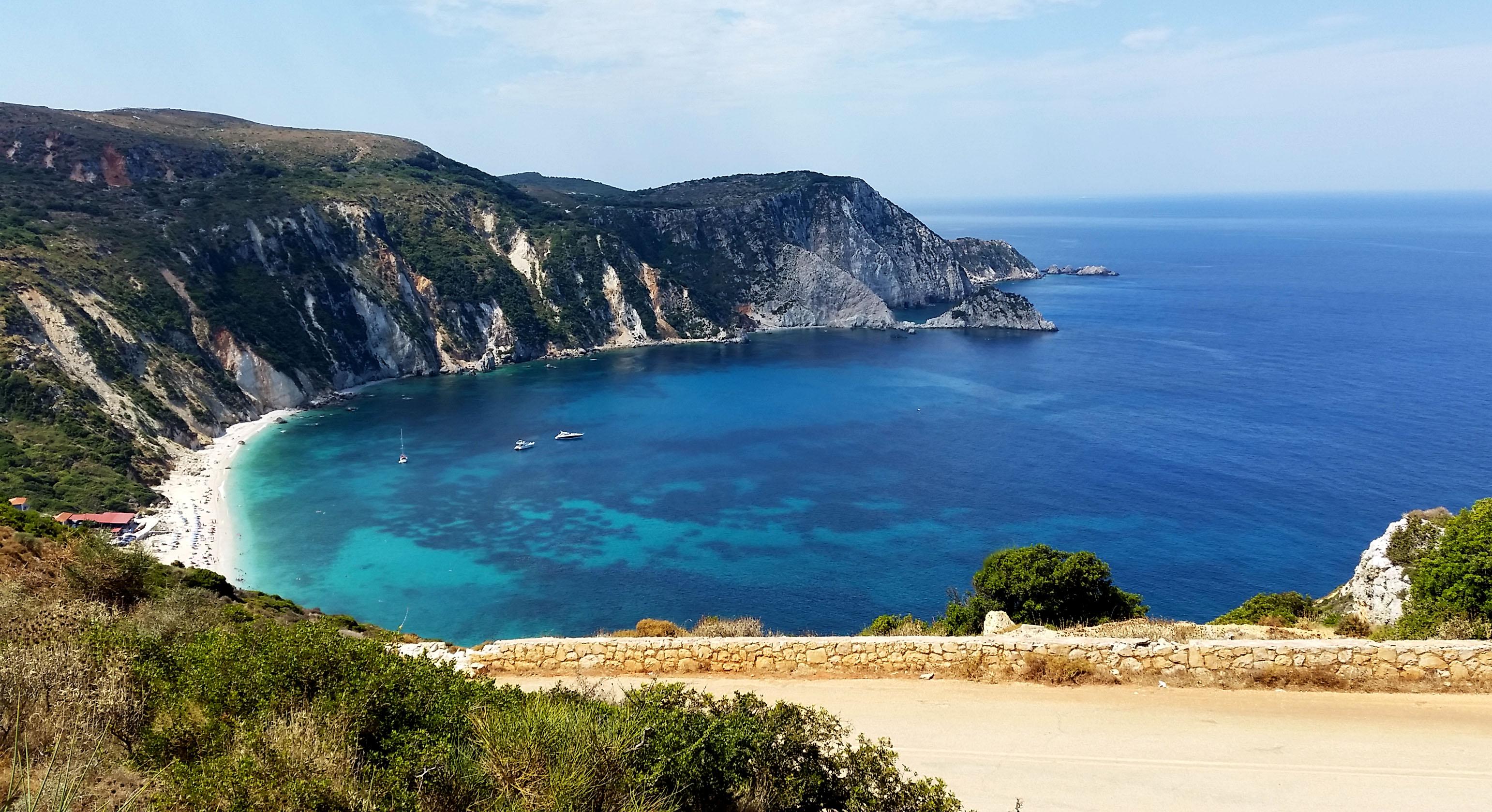 L'île de Céphalonie parmi les 25 lieux incroyables à voir en Europe