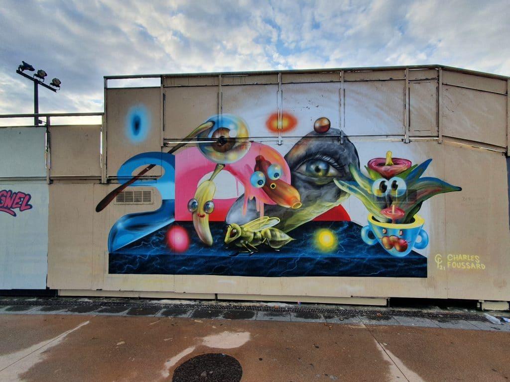 Street art Bordeaux #2 : Charles Foussard