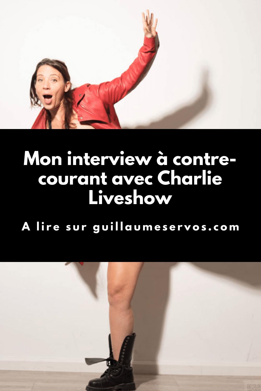 Découvre mon interview à contre-courant avec Charlie Liveshow. Son rapport au podcasting, à la photographie, aux réseaux sociaux...