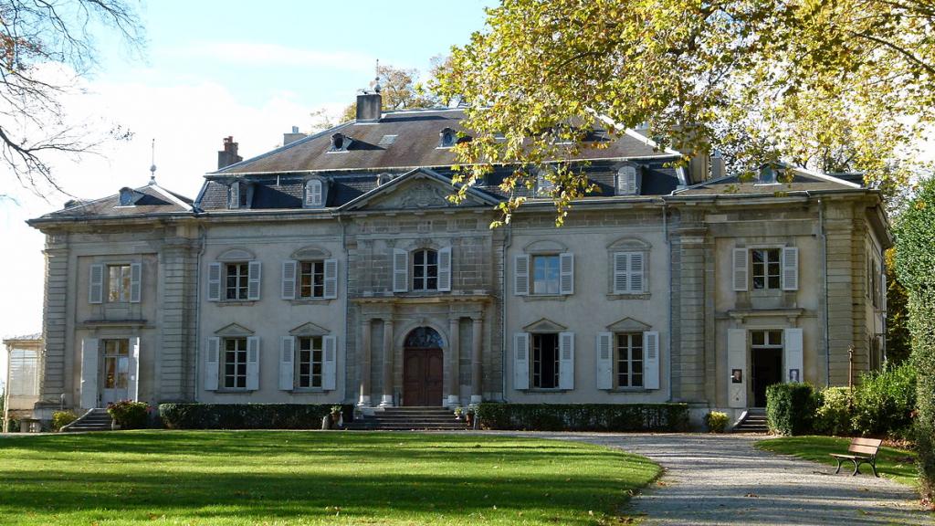 Ain hors des sentiers battus : le château de Ferney-Voltaire