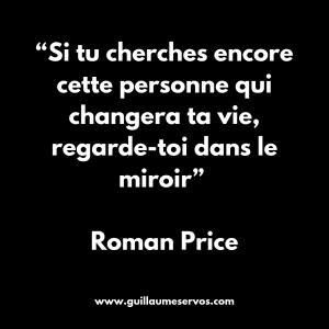 Citation de Romain Price