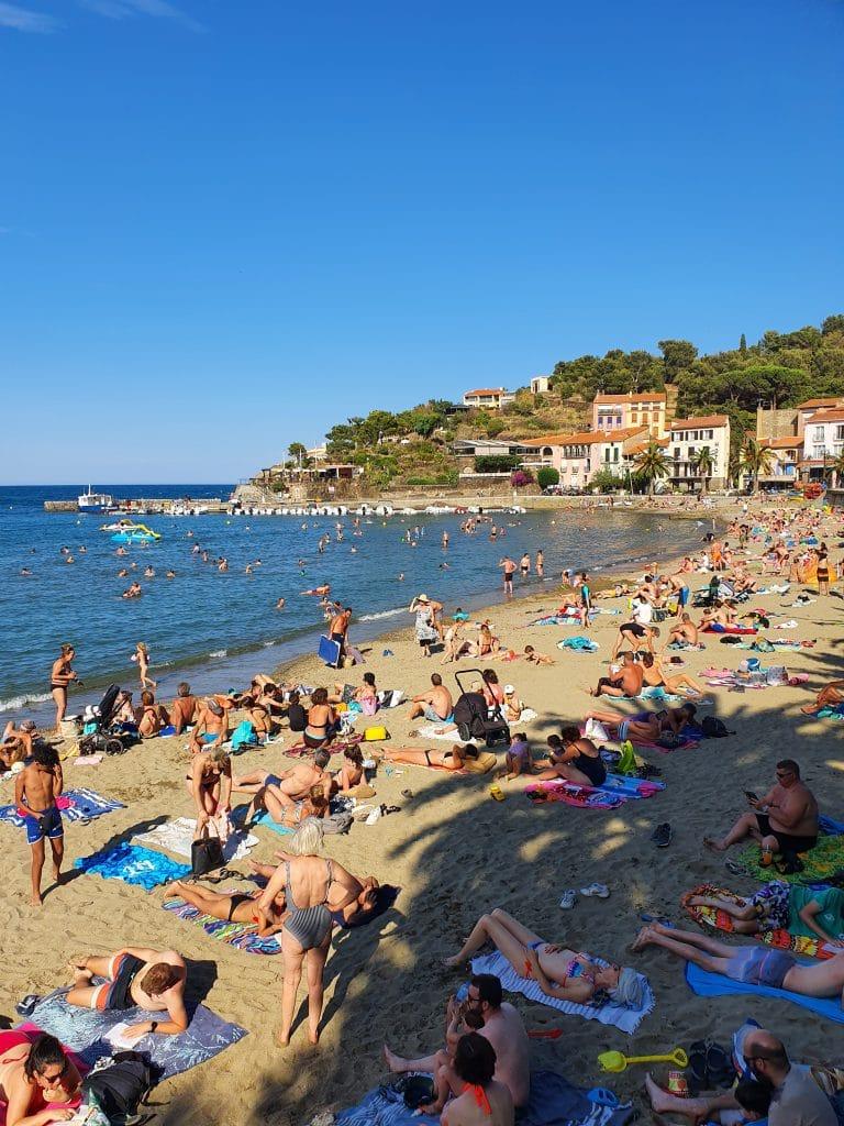 Les plages de Collioure (France)
