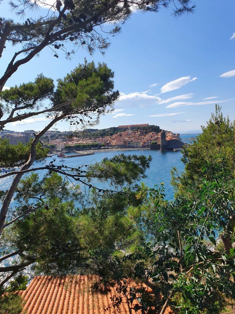 Vue de la corniche de Collioure
