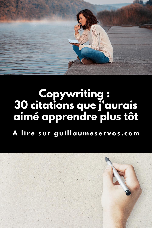 Si tu n'es pas vraiment sûr de ce qui se cache derrière le concept de copywriting, retiens JUSTE que c'est l'art de convaincre et de vendre avec des mots.