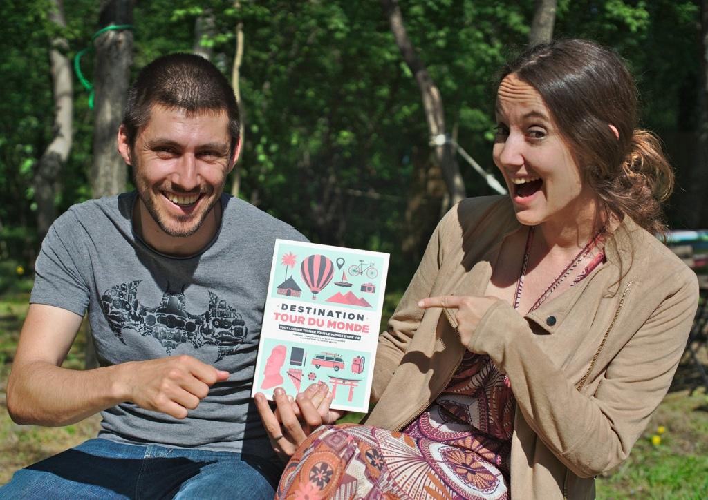 Le livre Destination Tour du Monde de Fabienne et Benoit du blog voyage Novo-Monde