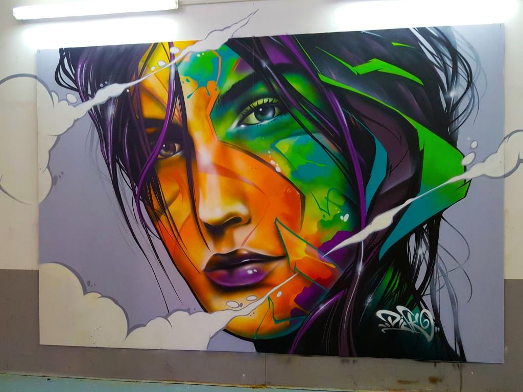 Découvre le street art de Disk à l'exposition ZOO Art Show à Lyon