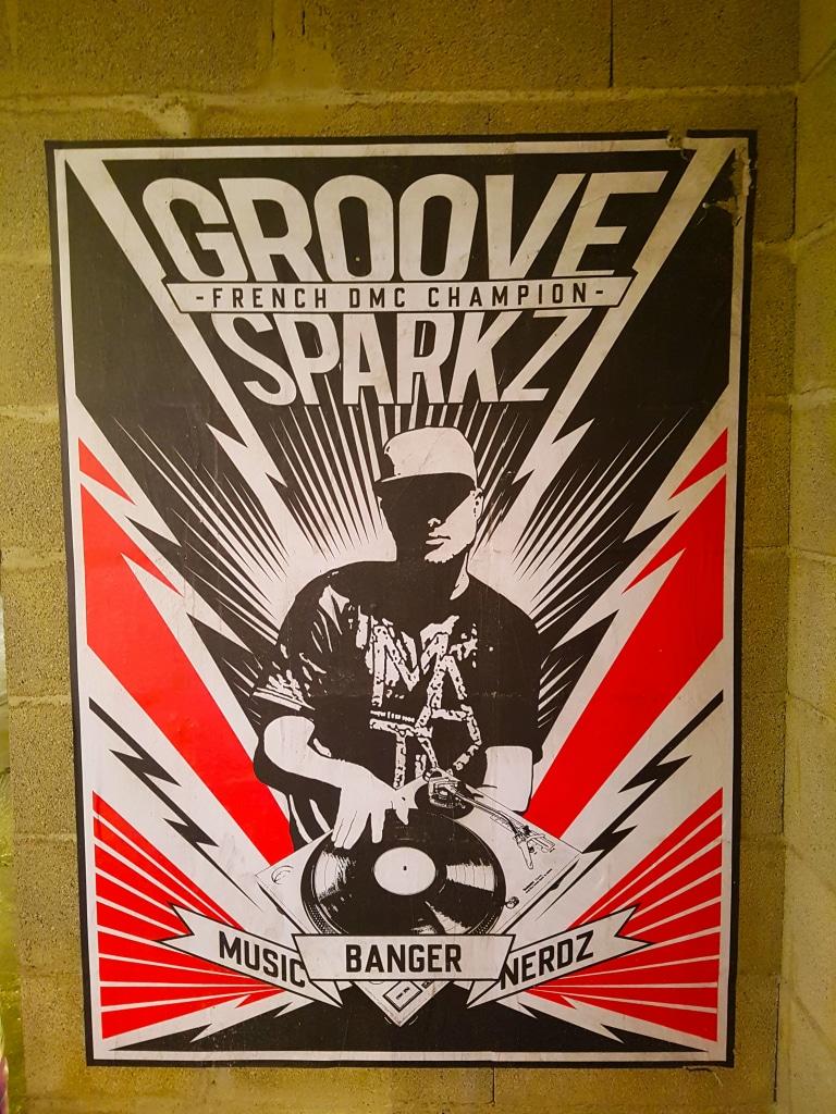 DJ Groove Sparkz à Zoo Art Show 2, Lyon.